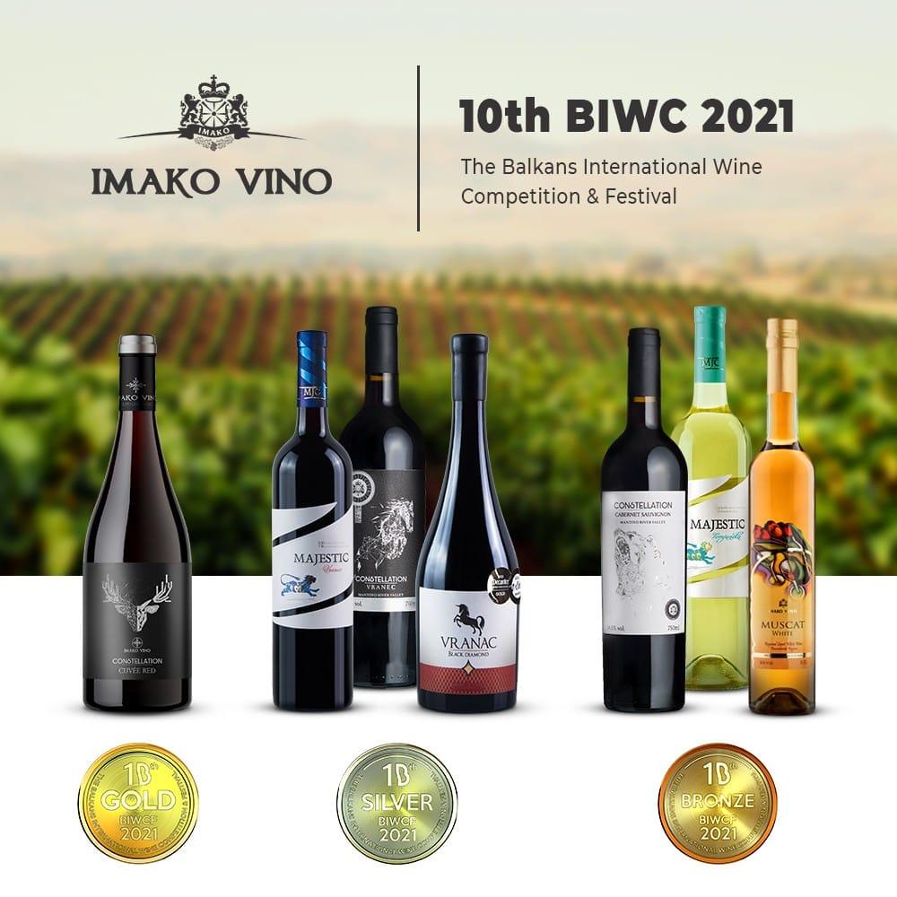Awards won at the 10th BIWC 2021